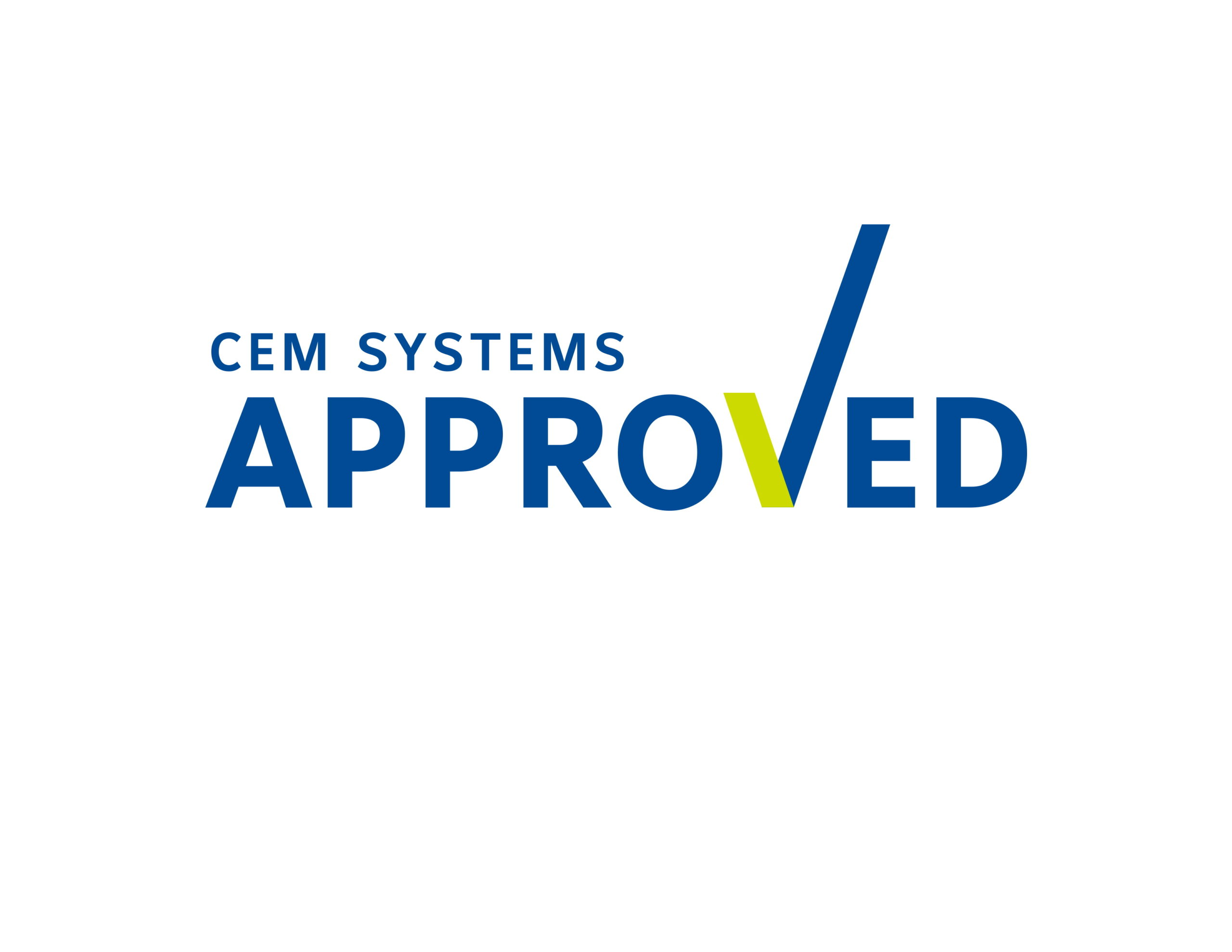 CEM Systems Approved logo